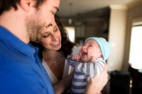 Family Newborn Baby Photograph